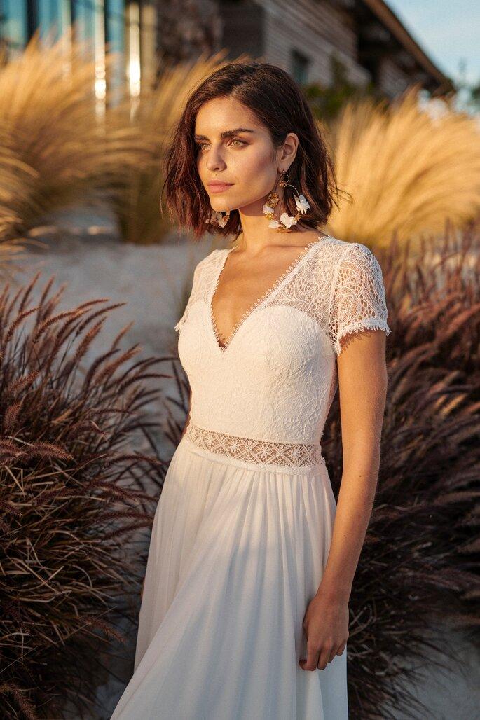 Printemps Haussmann - robe de mariée de créateur