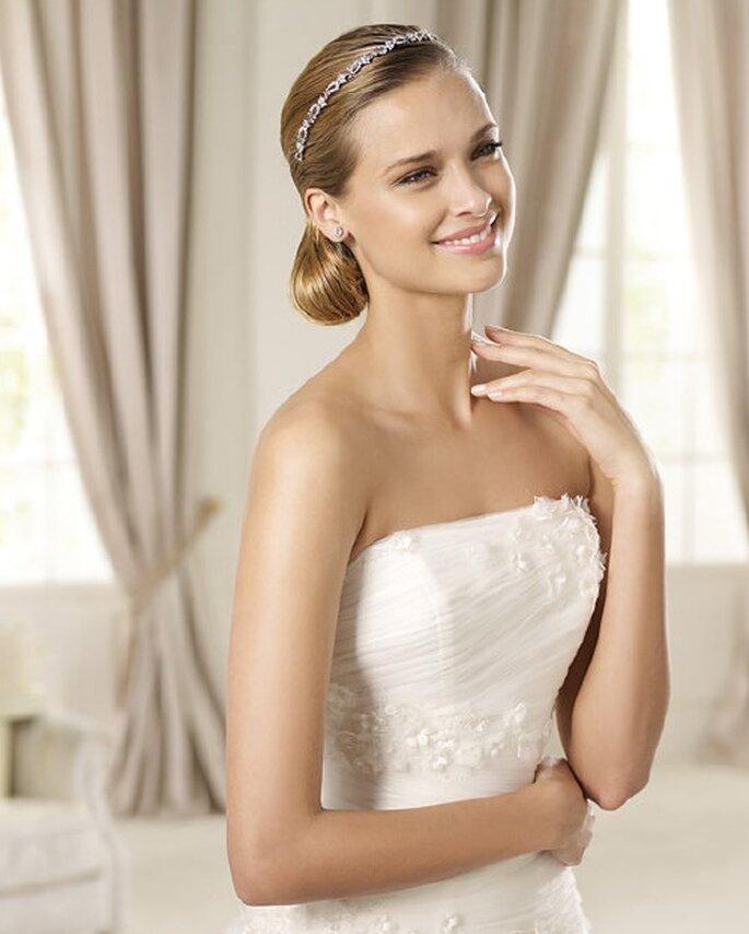Tiaras 2013 para tu peinado de boda - Pronovias