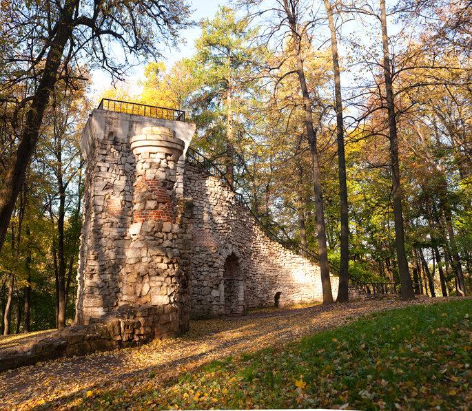 Царицыно, башня-руина
