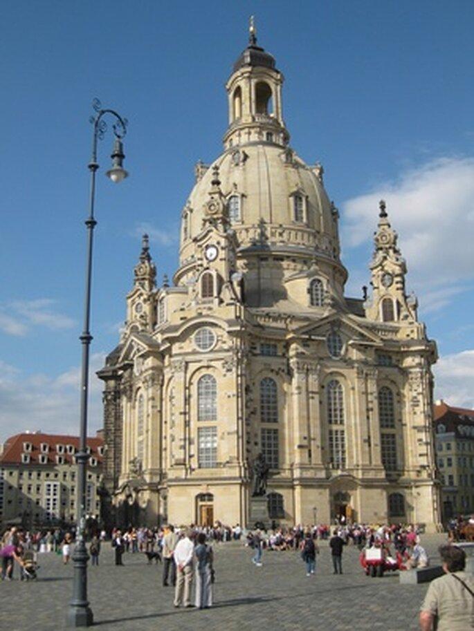 Frauenkirche in Dresden. Foto: Andreas Agne / pixelio.de