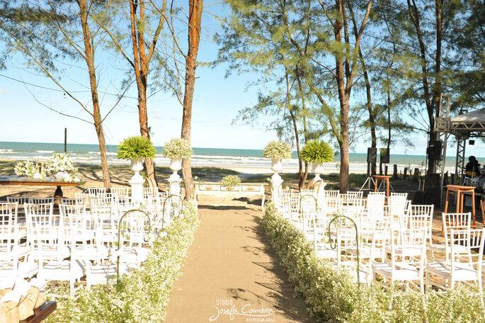 lindo casamento na praia