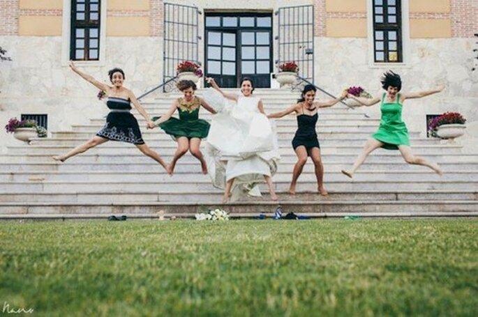 O que vai na cabeça das convidadas solteiras? Foto: @NanoGallegoFotografía