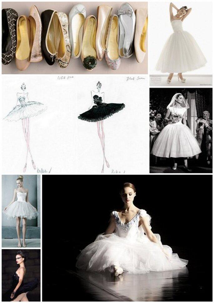 Vestiti da sposa da ballerina...copiando Balck Swan