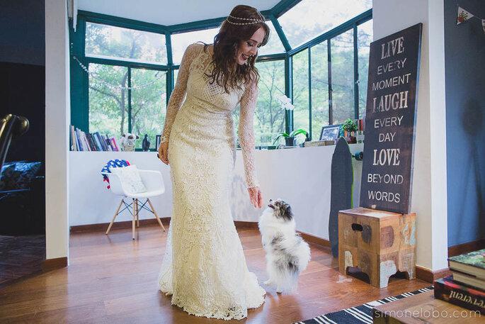 Yolan Cris para Casamarela Noivas