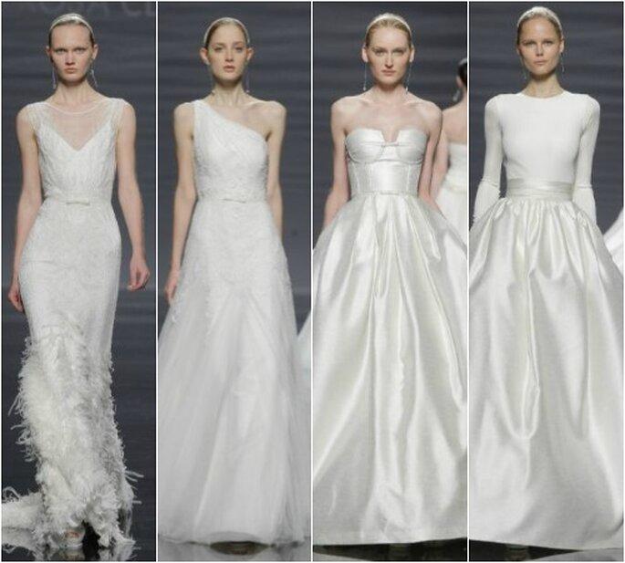 Rosa Clará, colección 2014. Foto: Barcelona Bridal Week