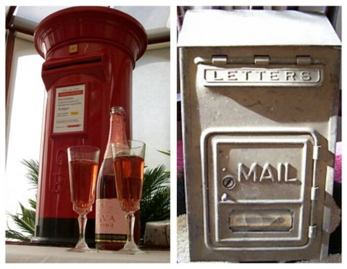 skrzynka pocztowa na ślubie