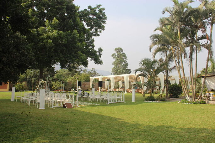 Palmeras Casa Blanca centro de eventos en Lima