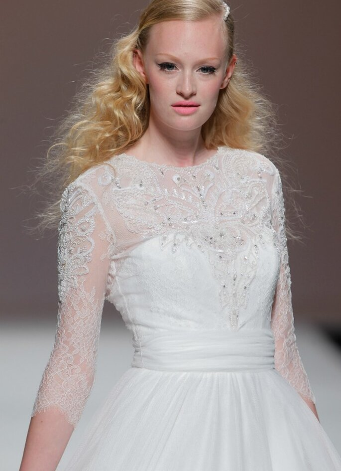 Cymbeline, collection 2105 - Photo: Barcelona Bridal Week