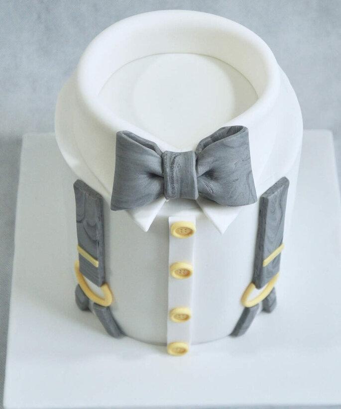 Gâteau de mariage - Le marié