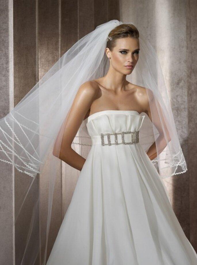 Vestidos de novia Manuel Mota para Pronovias 2012 - Pùrpura