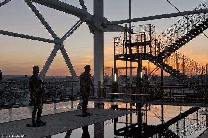 Центр Помпиду. Credits: Centre Pompidou