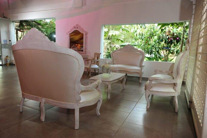 Hacienda Villa Sara Ambiente de sala boda