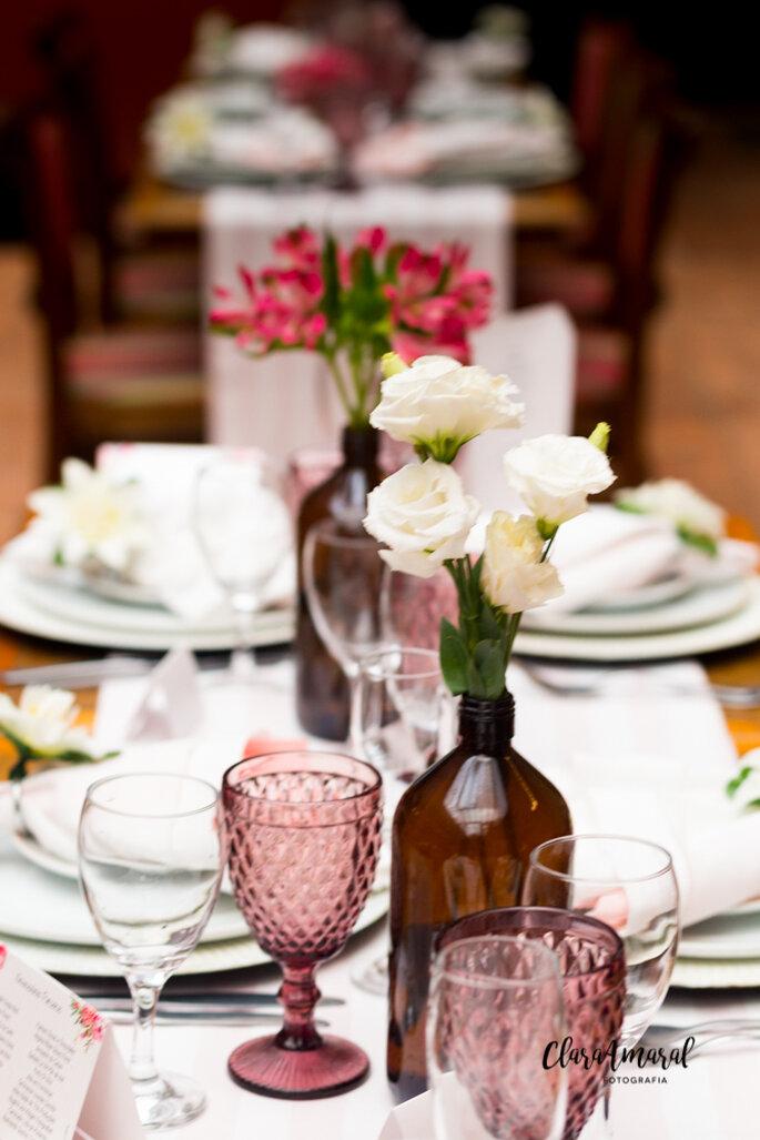 Minimalismo na decoração do casamento