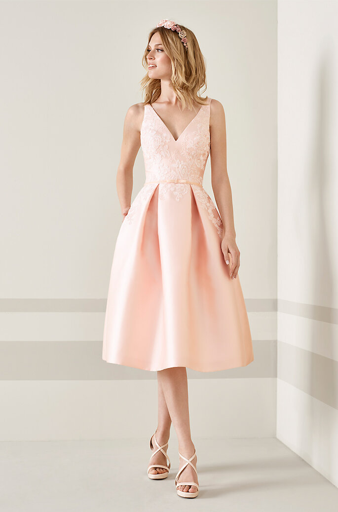 Outfit Hochzeitsgast rosé
