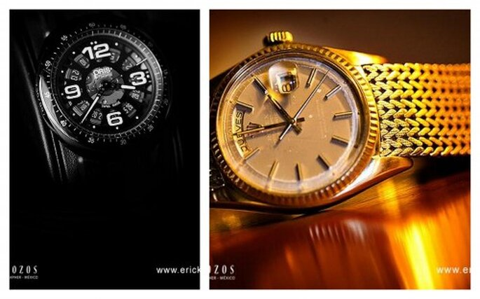 Relojes para hombres. Foto de Erick Pozos.