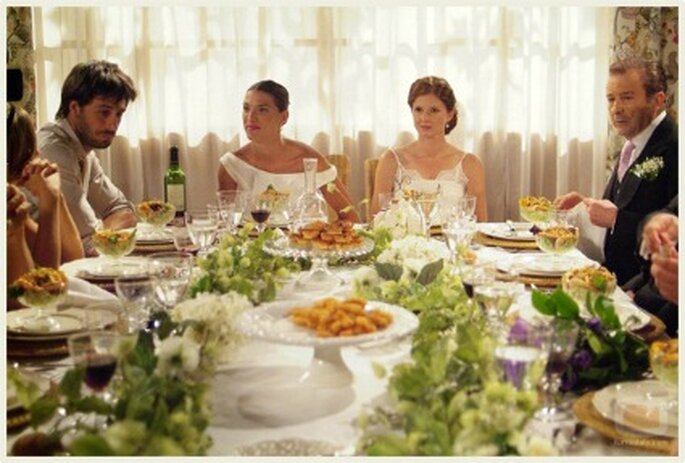 El banquete de boda se presta más para almuerzo o cena