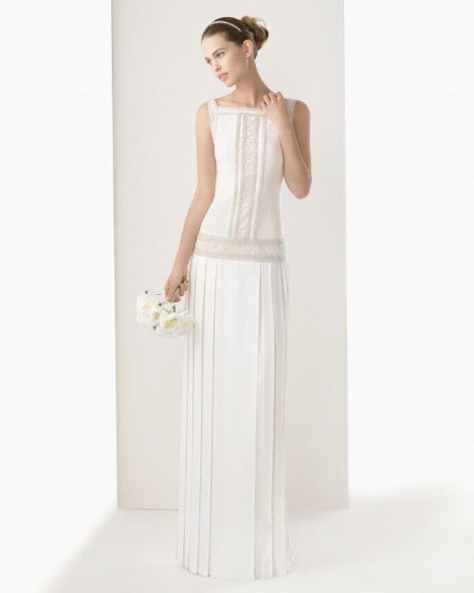 Vestidos de novia sin cola