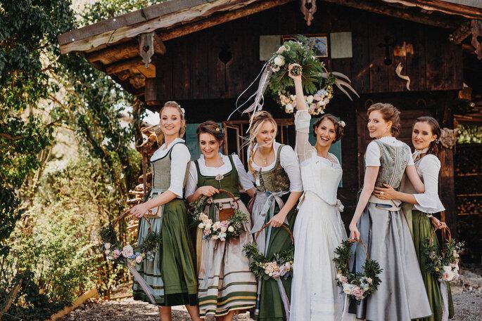 Brautmode von MICHAELA KEUNE MÜNCHEN - Couture aus Bayern