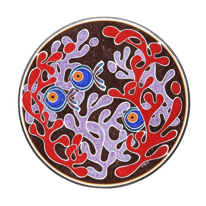 Maninterra Ceramica di Laura La greca - piatto ceramica