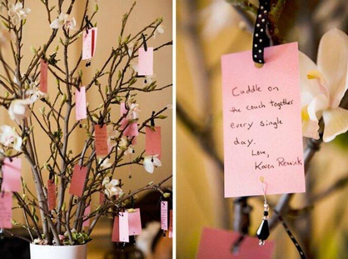 Une plante livre d'or : un beau souvenir de votre mariage