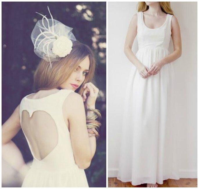 suknia ślubna serce na plecach
