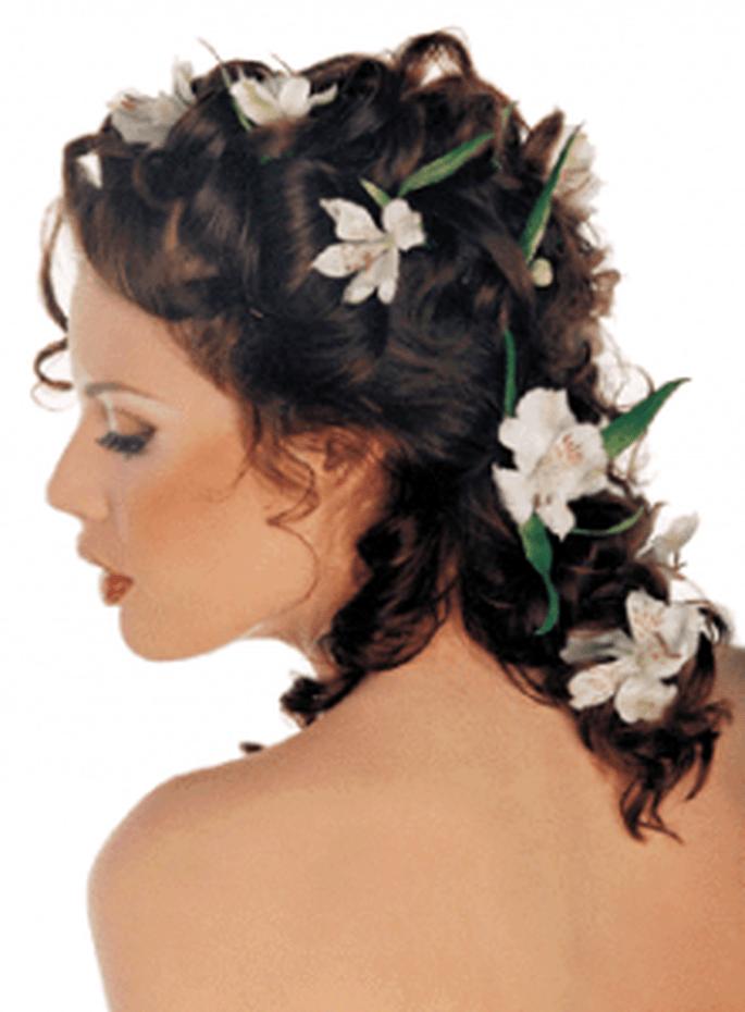 Fiori per capelli lunghi e corti