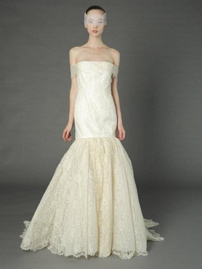 Vintage Brautkleider im Meerjungfrauen-Stil – Foto: douglas hannant