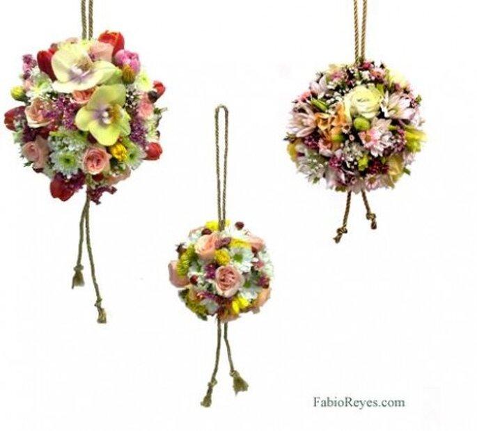 Ramos de novia 2013. Fotos Favio Reyes, diseño en flores.