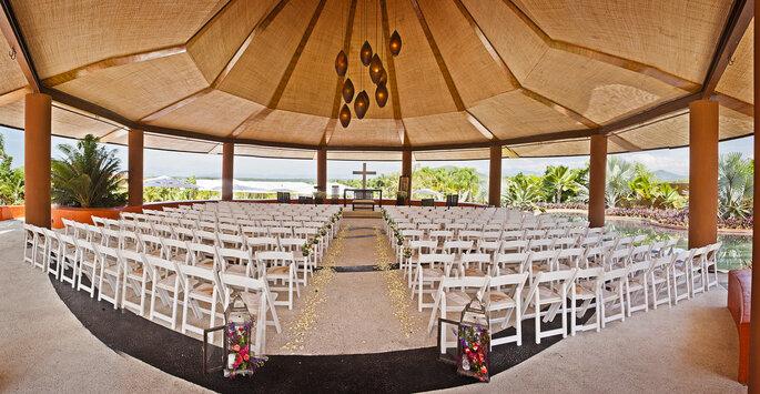 Rojo Azafrán Jardín para bodas en Morelos