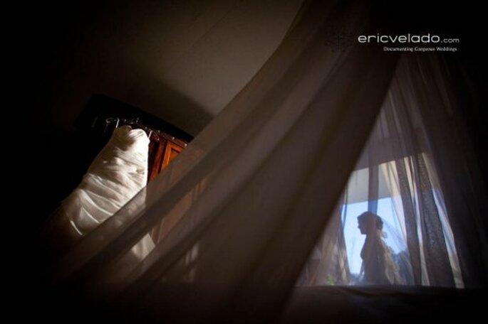 Fotografías vestido de boda. Imagen Eric Velado