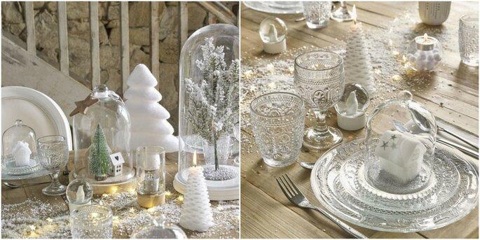 Photo : Maisons du monde - assiette plate en verre classica