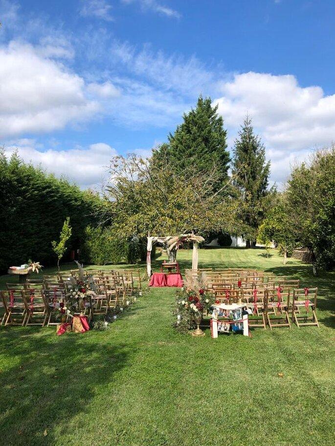 Altar no exterior da Quinta do Amorzinho