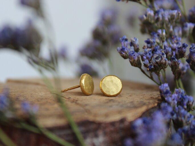 ohrstecker gold nachhaltig