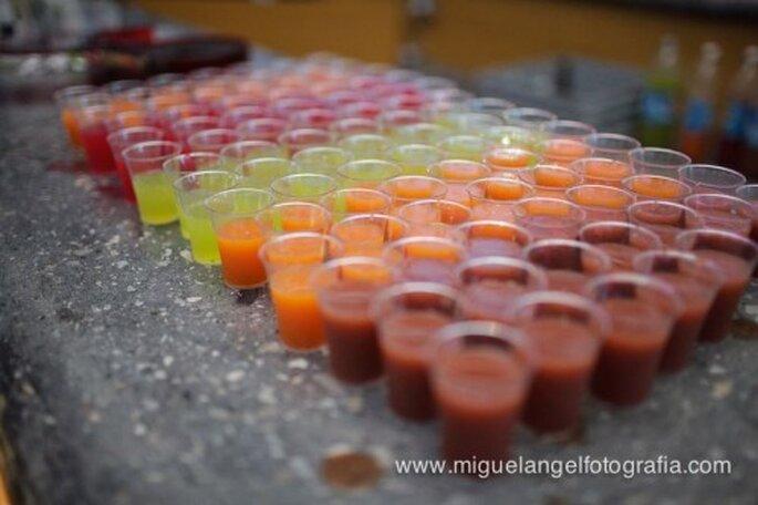Ideas para un banquete de boda vegetariano - Foto Miguel Ángel Fotografía