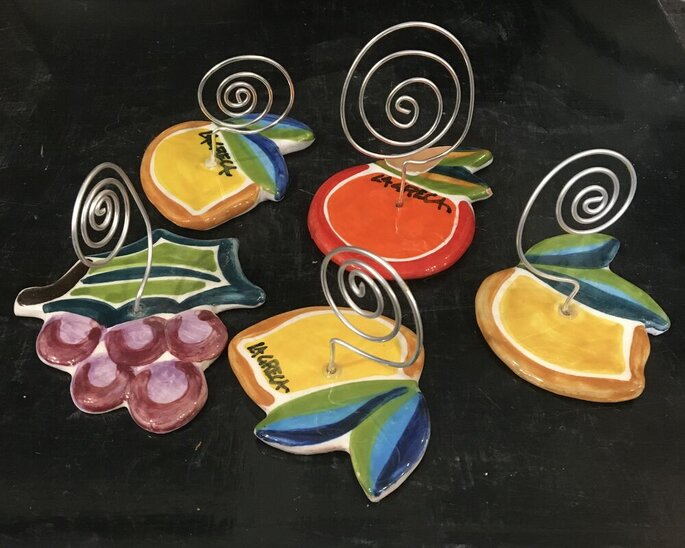 Maninterra Ceramica di Laura La greca - segnaposto
