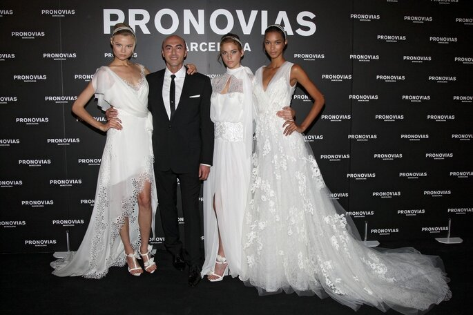 Adelanto de vestidos de novia 2013 desfile pronovias