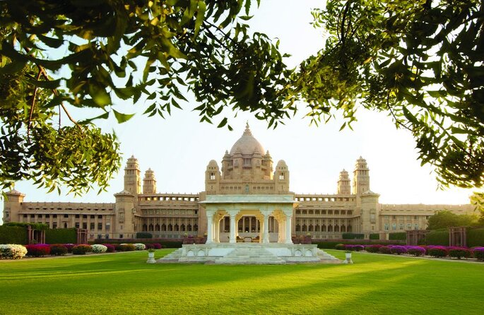 Photo: Umaid Bhawan Palace - A Taj Luxury Hotel.