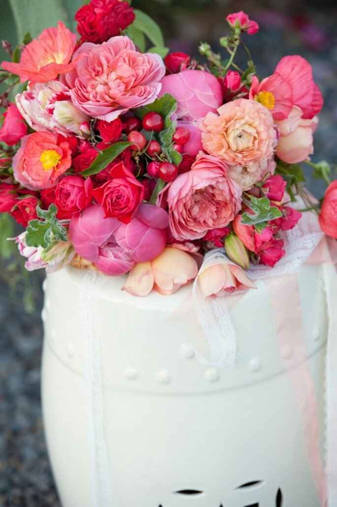 Fruits in your wedding decor - Photo: Rebecca Gosselin Photography