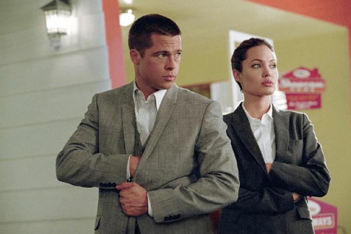 Mr&Mrs, le film qui a marqué les débuts de l'histoire d'amour de Brad Pitt et Angelina Jolie. Photo: Twentieth Century Fox.