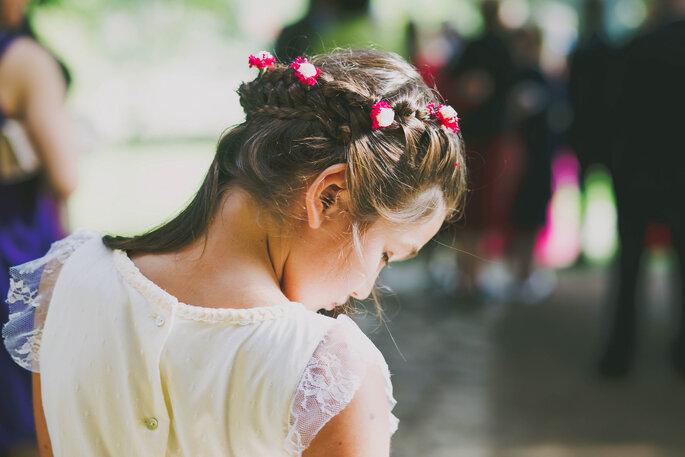 Kinder für die Hochzeit stylen