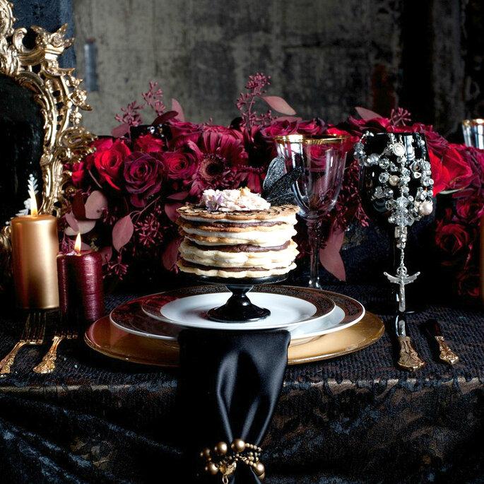 Halloween Tischdekoration Hochzeit