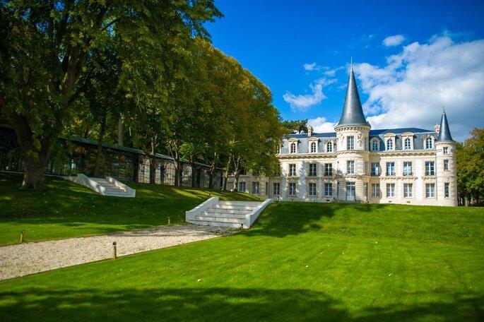 Le Château d'Hardricourt, lieu de réception dans les Yvelines