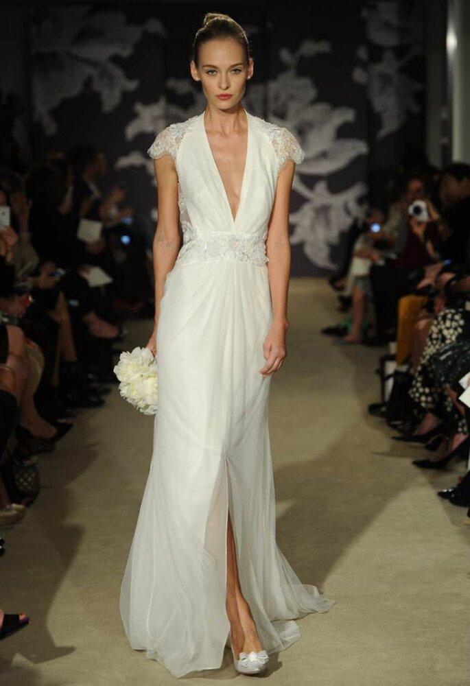 12 самых модных свадебных платьев 2015 года - Carolina Herrera