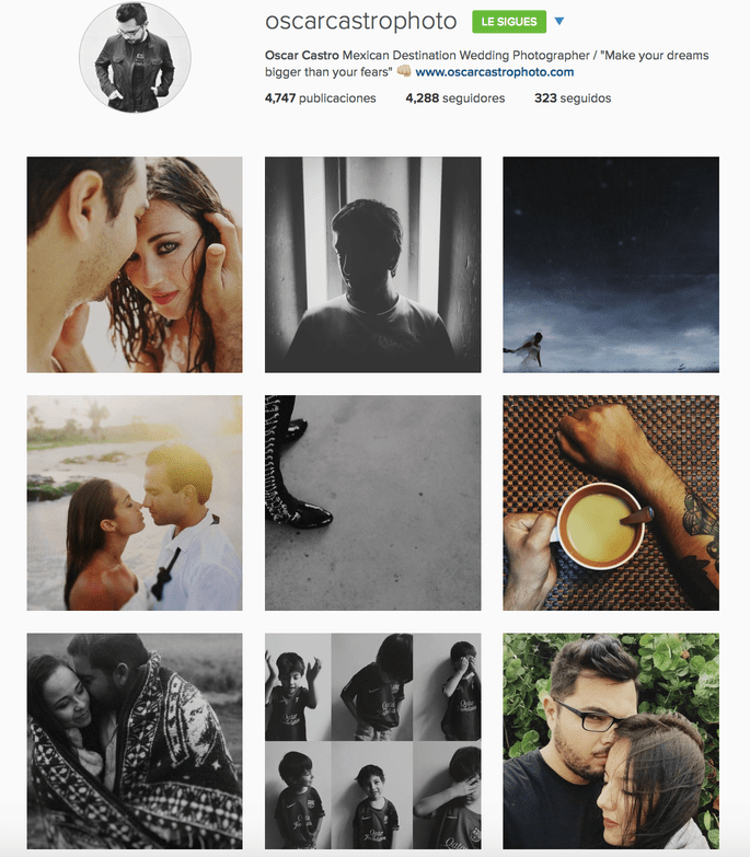 Oscar Castro Instagram
