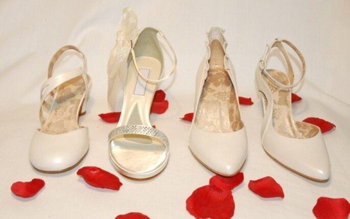 Colección de zapatos de novia Enepe 2010