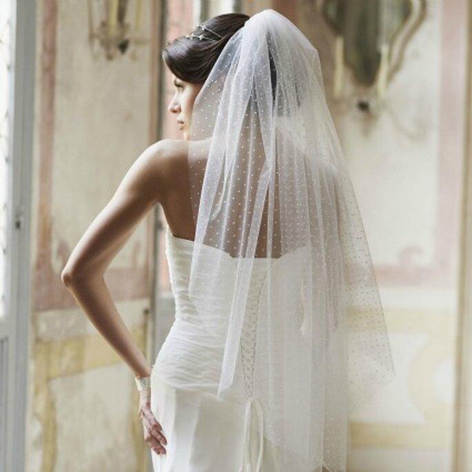 Voile de mariée Adèle, Instant Précieux - Photo : Instant Précieux