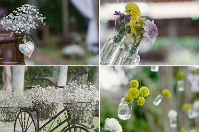 decoracao e casamento: vidrinhos: charme e romantismo na decoração do seu casamento
