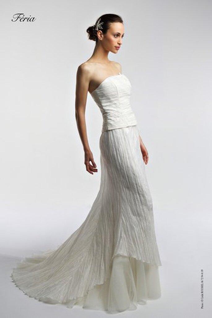 Robes de mariée Bochet Créations 2010 - Feria