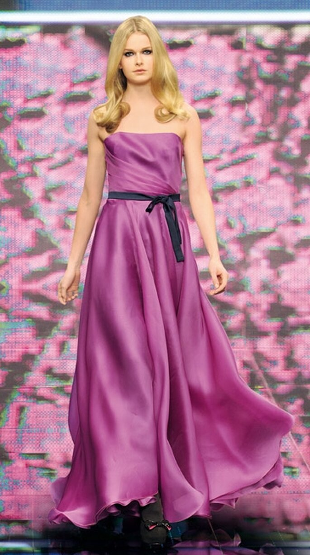 Diseños coloridos del vestido de noche para invierno 2011