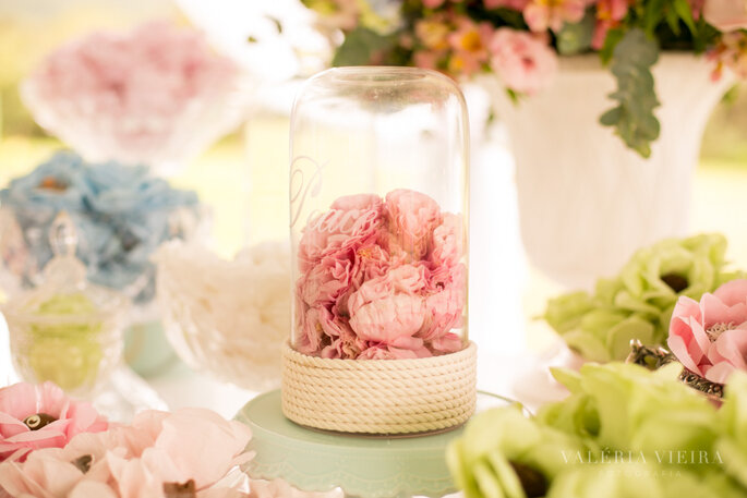 Detalhes da mesa de doces